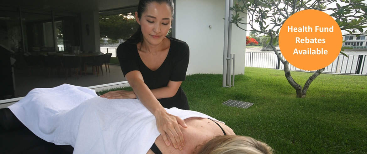 Health fund rebates are available for elderly massage therapy.